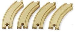 Brio  houten treinrails 4 bochten 33342
