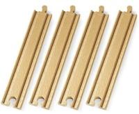 Brio  houten treinrails Lange rechte rails 33341-1