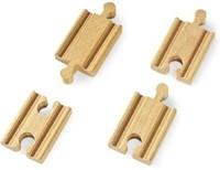 Brio  houten treinrails Korte rechte rails 33333-1