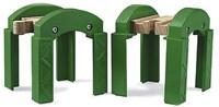Brio  houten trein accessoire Brugpeilers 33253-1