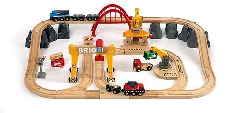 BRIO trein Treinset vrachtvervoer 33097-1
