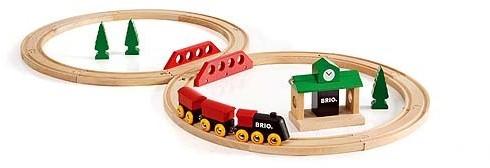 BRIO Classic Travel Fig 8 Set