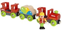 Brio  houten trein accessoire Fun Park Clown Train 33756-1