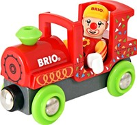Brio  houten trein accessoire Fun Park Clown Train 33756-3