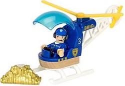 Brio  houten trein accessoire Politie helicopter