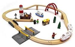 Brio  houten trein set Sea travel set 33624