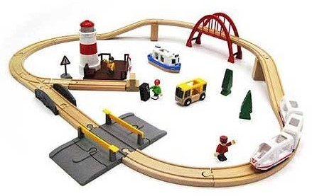 Brio  houten trein set Sea travel set 33624-1