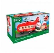 BRIO trein Vracht transport helikopter 33886