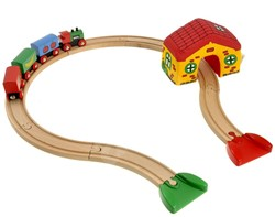 Brio  houten trein set Mijn eerste treinset 33700