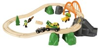 Brio  houten trein set Lumber Loading Set 33789-3