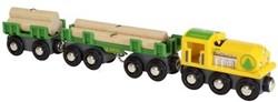 Brio  houten trein Lumber Train - 33775