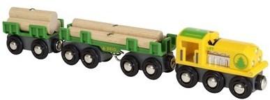 Brio  houten trein Lumber Train - 33775-1