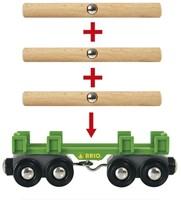 Brio  houten trein Lumber Train - 33775-2