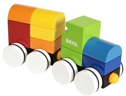 Brio  houten bouwblokken Magnetic train 30245