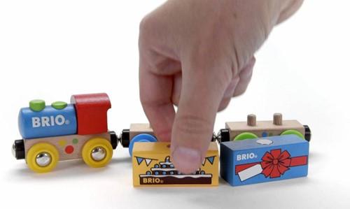 Brio  houten trein Verjaardagstrein 33818-2