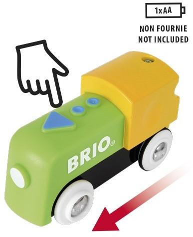 Brio  houten trein accessoire My First Railway Battery Train 33705-2