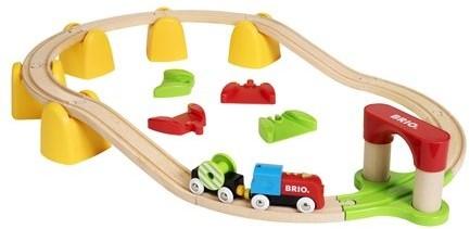 BRIO trein Mijn Eerste Treinset op batterijen 33710-1