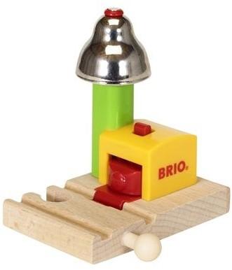 Brio  houten trein accessoire My First Railway Bell Signal 33707-1
