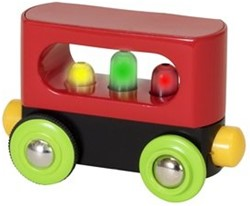 Brio  houten treinwagon My First Railway Lightup Wagon 33708