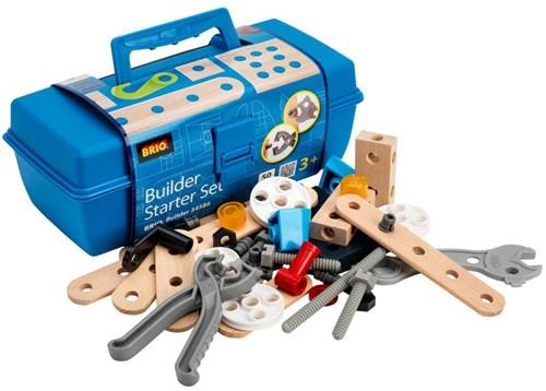 Brio  houten constructie speelgoed Builder Gereedschapskist starter set 34586-1
