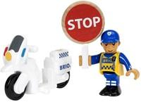 BRIO trein Politie motoragent 33861-1