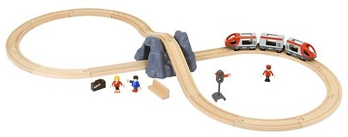 Brio houten trein set Railway Starter Set 33773-1