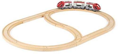 Brio houten trein set Railway Starter Set 33773-3