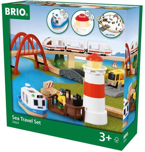 Brio  houten trein set Sea travel set 33624-2