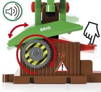 Brio  houten trein accessoire Sawmill Playset 33774-2