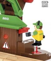 Brio  houten trein accessoire Sawmill Playset 33774-3
