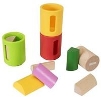 Brio  houten leerspel Vorm sorteer set 30173-1