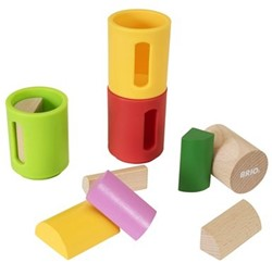 Brio  houten leerspel Vorm sorteer set 30173