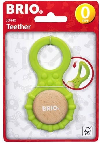 Brio houten rammelaar en bijtring Teether 30440-3