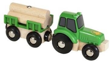 BRIO Tractor with load