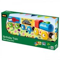 Brio  houten trein Verjaardagstrein 33818-3